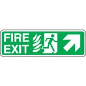 Safe Safety Sign - Fire Door Right Up 095